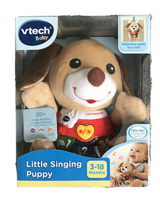 Vtech Baby Little Singing Puppy 3 - 18 Months Baby Light Up