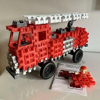 Waffle Blocks Fire Engine