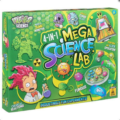Weird Science 4 In 1 Mega Science Lab Fun Experiements