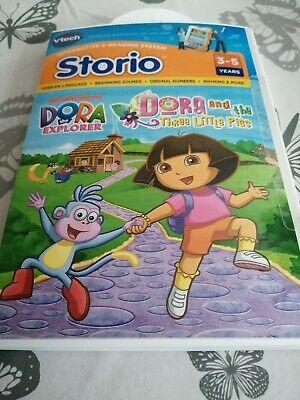 vTech Storio Dora the Explorer Three Little Pigs Interactive