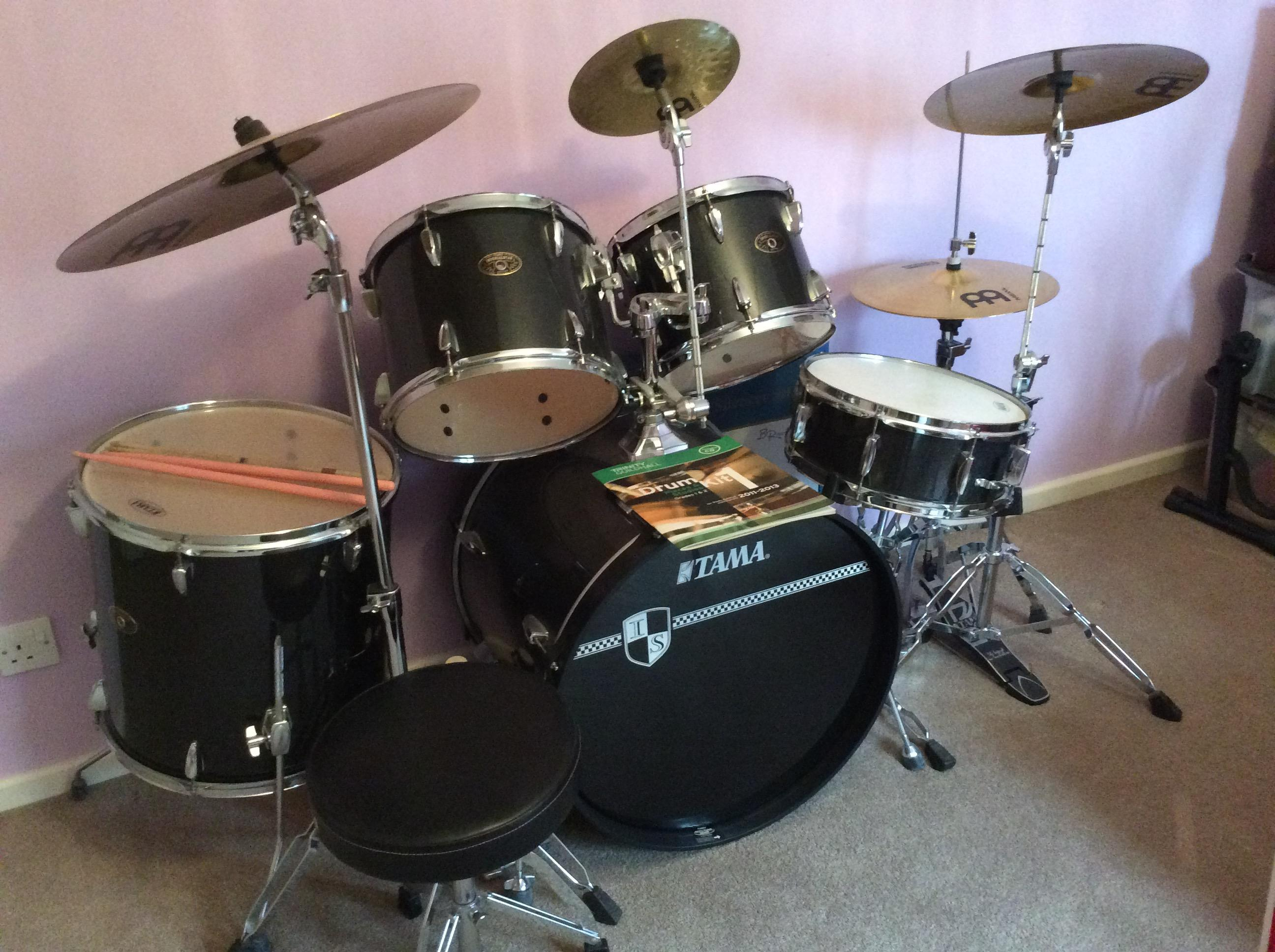 TAMA Imperial Star full drumkit