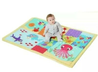 Chad Valley Baby Bright Ocean Large Playmat Covered In