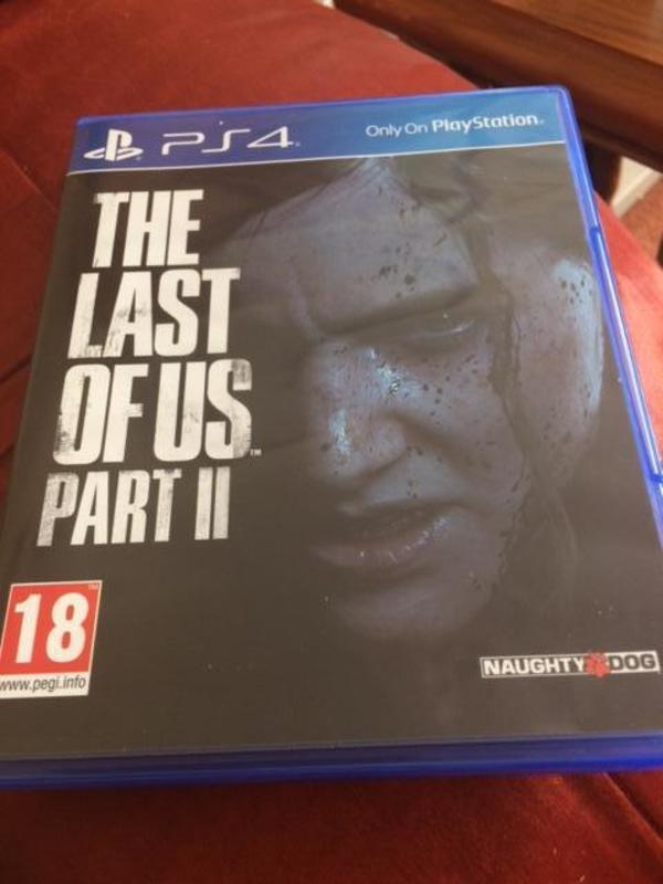 THE LAST OF US PART II PS4 Brand New Released Game