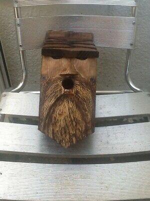 Wild Bird nesting box\\wood spirit design..