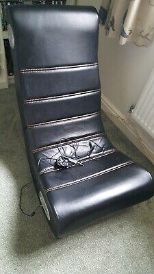 X-Rocker Flash Gaming Chair - Black/Red