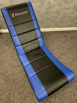 X Rocker Gaming Chair - Black and Blue
