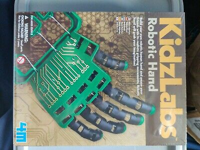4M Kidz Labs Robotic Hand Build Your Own Science Nature