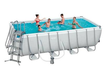 Bestway 4.88m x 2.44m x 1.22m Rectangular Swimming Pool Set
