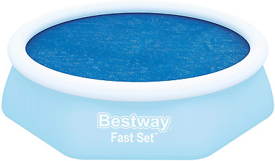 """Bestway Fast Set Solar Swimming Pool Cover, 2.10 m / 6'10"""""""