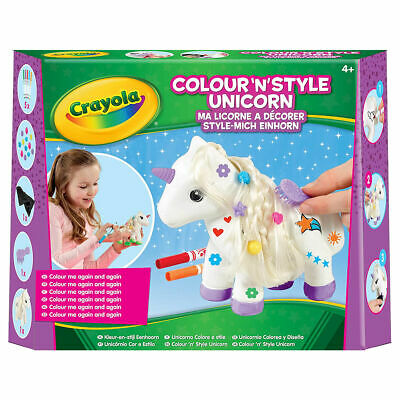 Crayola Colour and Style Unicorn - can be decorated again