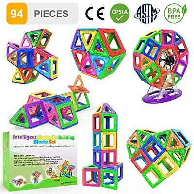 Desire Deluxe Magnetic Building Blocks Gift 94PC Kids