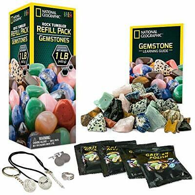 NATIONAL GEOGRAPHIC Rough Gemstone Refill Kit for Rock