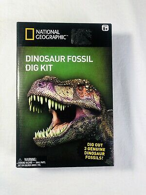 National Geographic Dinosaur Fossil Dig Kit Brand New sealed