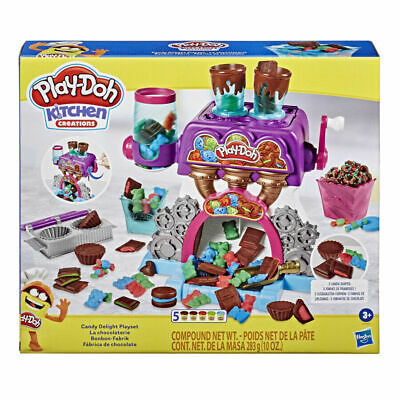 Play-Doh Kitchen Creations Candy Delight Playset Crank Up