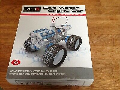 Red 5 Salt Water Engine Buildable Car Kit Educational Toy