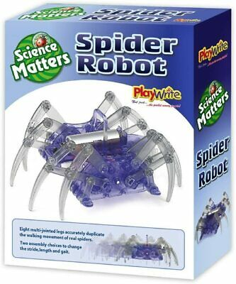 SPIDER ROBOT SCIENCE KIT Build Your Own Salt Water Play With