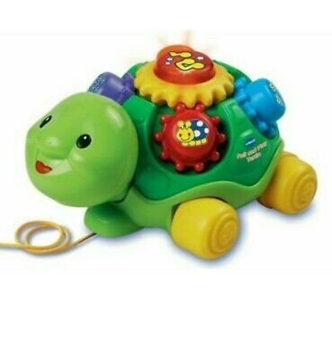 VTech Pull and Play Turtle Toddler Toy 9-36 Months