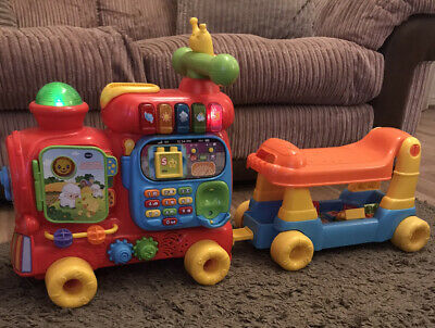 VTech Push and Ride Alphabet Train Red