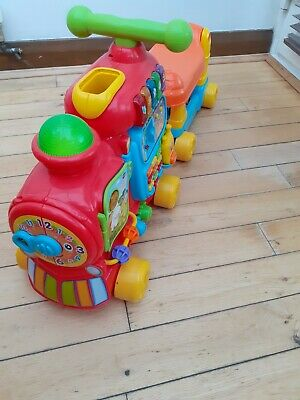 Vtech Push & Ride Alphabet Train, used but immaculate, comes