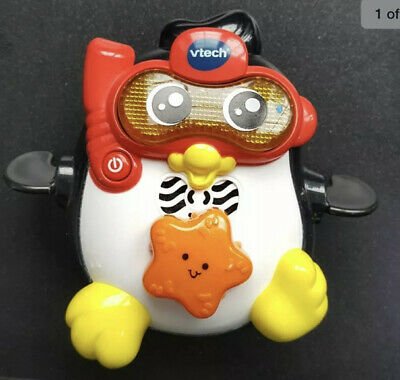 Vtech Splash and Swim Penguin Bath Water Toy Baby Toddler