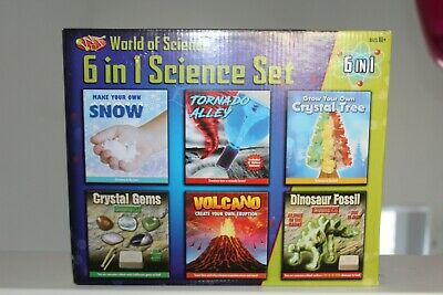 World of Science 6 in 1 Science Set - Playset