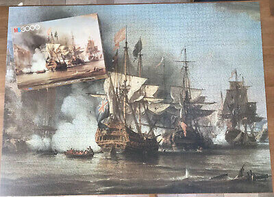 Rare Vintage MB  Piece Jigsaw Puzzle The Capture Of
