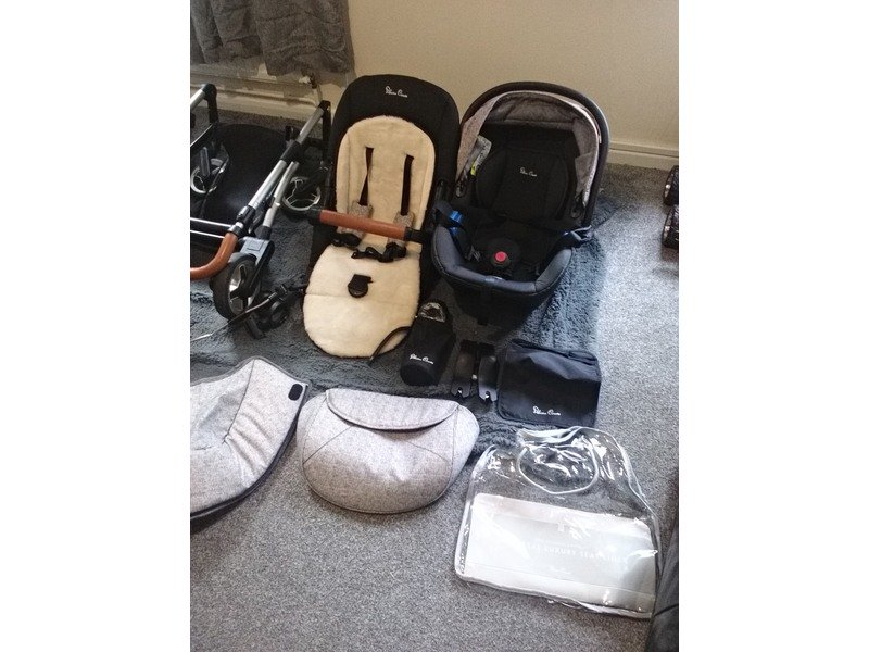 Silver cross pioneer 3in 1 travel system only 15 months