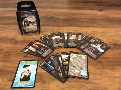 007 James Bond Top Trumps Card Game Travel Game Collectable