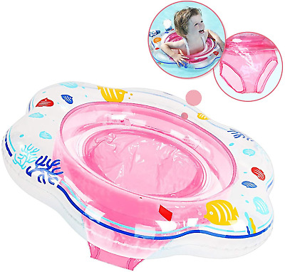 BHGWR Baby Swimming Ring Float, Inflatable Baby Swim Ring