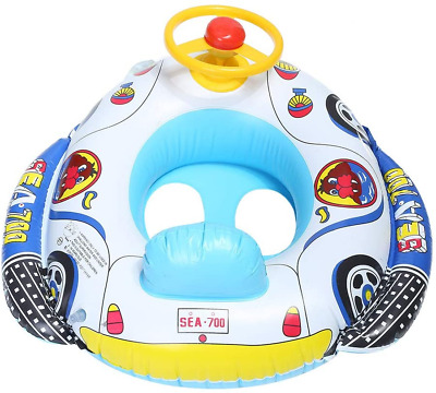 Baby Pool Float, Kids Seat Boat Inflatable Swimming Ring