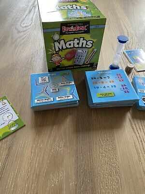 BrainBox Maths Card Game Educational Toy 10 Minute Brain