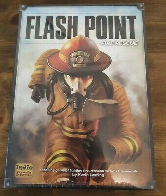 Flash Point Fire Rescue Board Game - Brand New in shrink