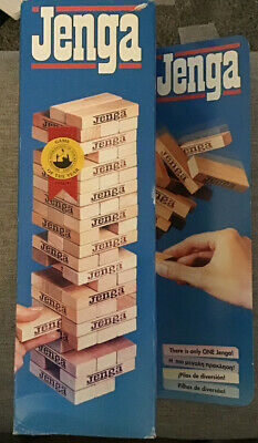 Jenga by MB Games  Vintage Rare. Brand New. Games Night?