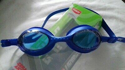 Maru Dolphin Anti Fog Junior Swimming Goggles - Blue/Yellow