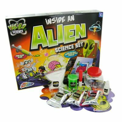 Weird Science Inside An Alien Science Set Kids Experiment