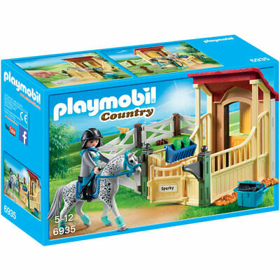 PLAYMOBIL Horse Stable with Appaloosa - Country