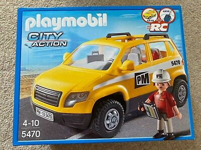 Playmobil  City Action Construction Site Supervisors