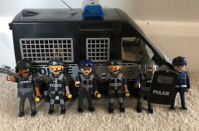 Playmobil City Action Police Van with Lights and Sound