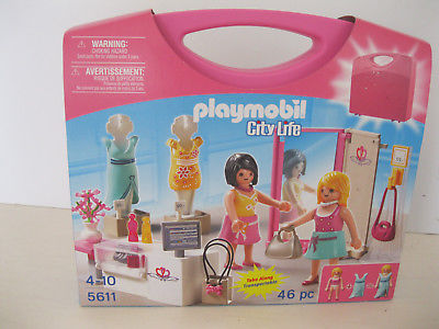 Playmobil  City Life Fashion Dress Up Figures
