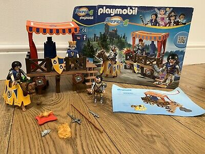Playmobil Knights Royal Tribune () Alex Super 4