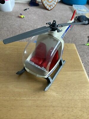 Vintage Playmobil  Police Helicopter No Figures