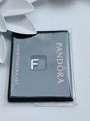 Genuine Pandora Petite Locket Charm Letter F ()