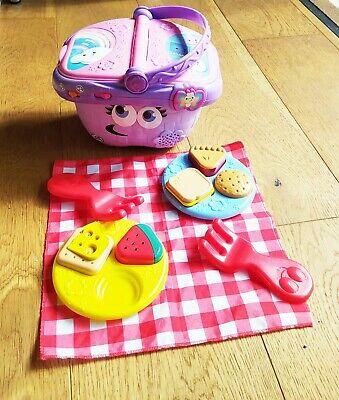LeapFrog Shapes & Sharing Picnic Basket Baby Toy Educational