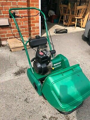 Qualcast Classic 35S Petrol Cylinder Lawn Mower + Qualcast