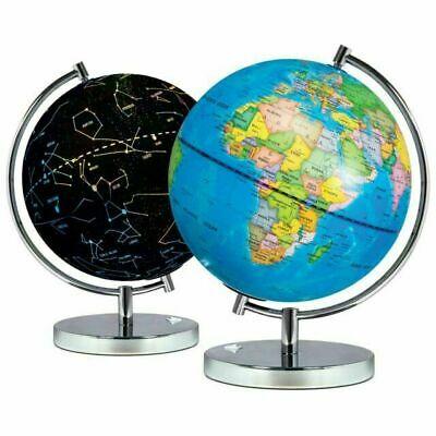 Science Kidz 2 in 1 Illuminated World Globes for Children,