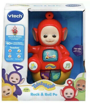 Vtech Teletubbies Rock & Roll Wobble Po Interactive Baby Toy