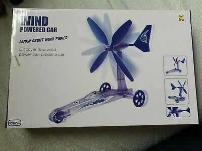 Wind Powered Car Experiment Science Kit