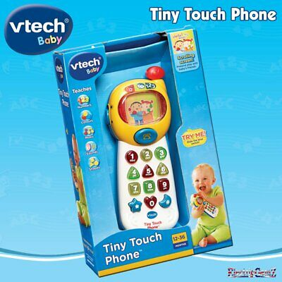 vTech Baby Tiny Touch Phone with Sound Music and Rotating