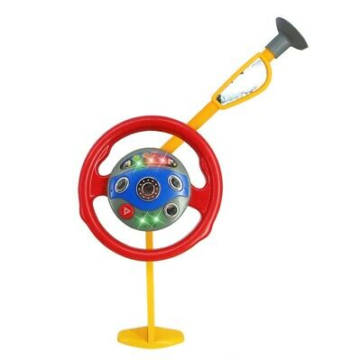 Children's Backseat Steering Wheel Toy Electronic Driver Car