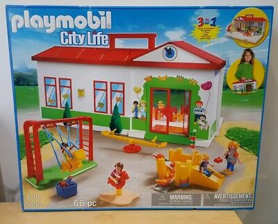 PLAYMOBIL  CITY LIFE NURSERY PRE SCHOOL KINDERGARTEN